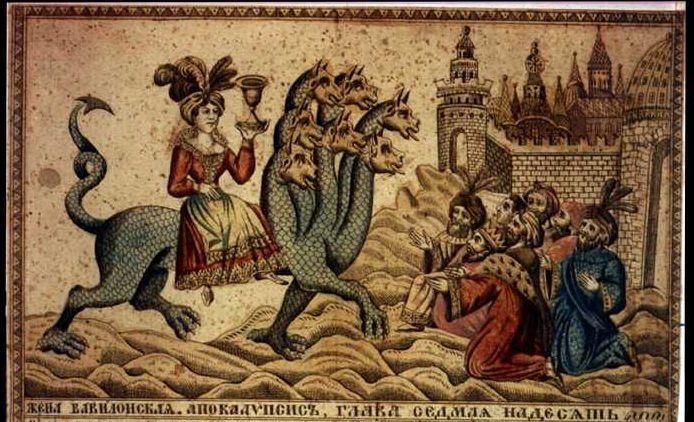 Curva Babilonului, prostituata Apocalipsei