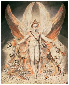 Lucifer Painting W. Blake