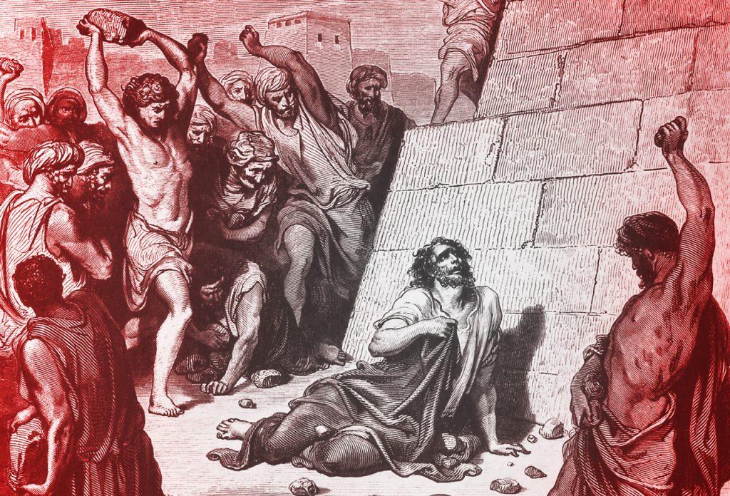 Neprihănitul Ștefan a fost omorât cu pietre, deși nu a comis păcate de moarte.