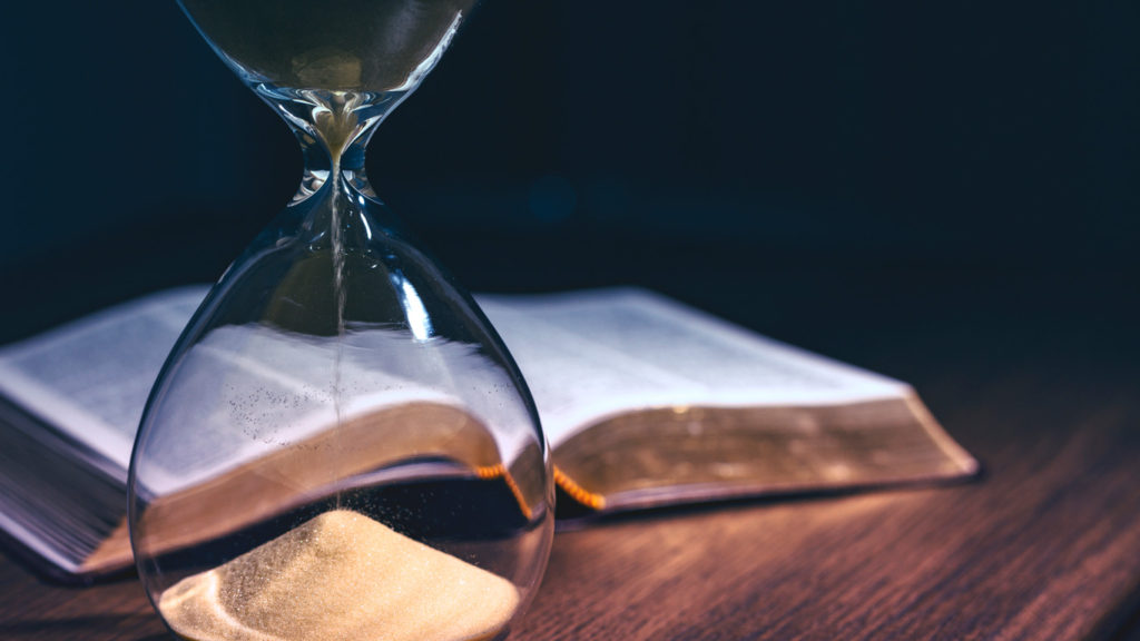 """Eternitatea Cuvântului: """"Cuvintele Mele nu vor trece"""" (Luca 21:33)."""