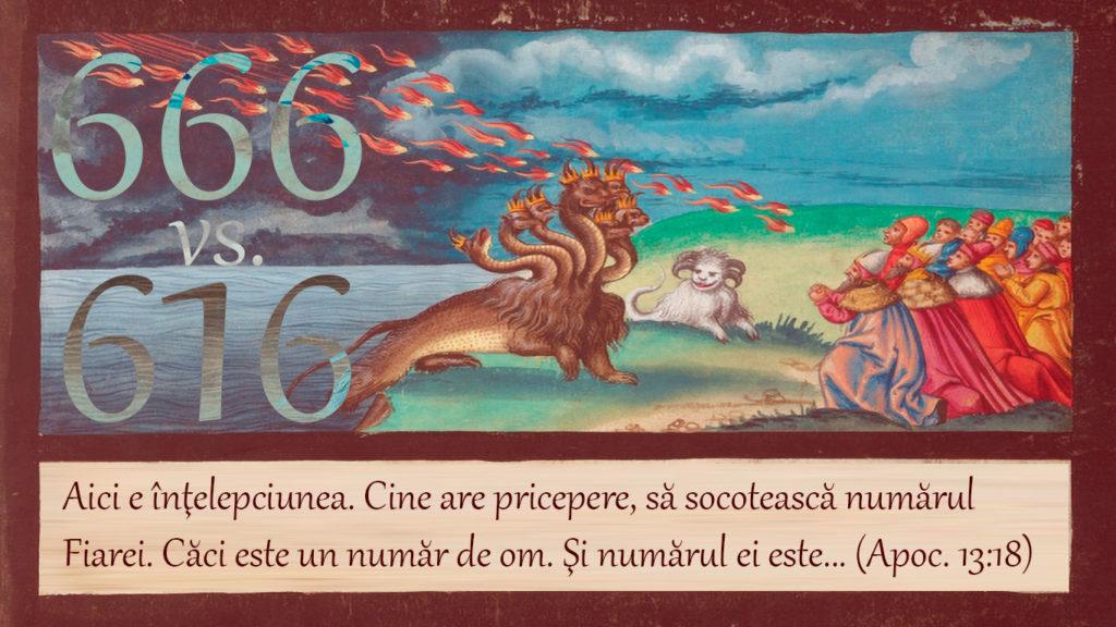 666 sau 616? Proorocul mincinos coboară foc din cer și îi amăgește pe toți să accepte numărul Fiarei.