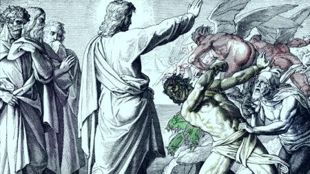 Cum poate ajunge un om posedat de o legiune de demoni?