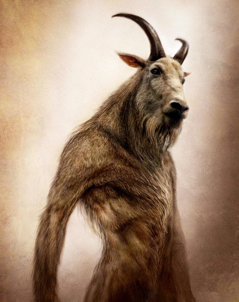 Expresia făpturi omenești cu chip de țap, din Isaia 34:14, a stârnit fantezia umană cu privire la înfățișarea demonilor.