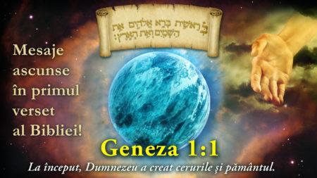 Geneza 1:1 ascunde mistere codificate